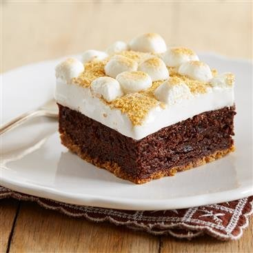 Brownies S'mores de Fudge