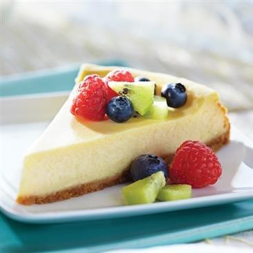 Cheesecake de Limón con Frutas Frescas