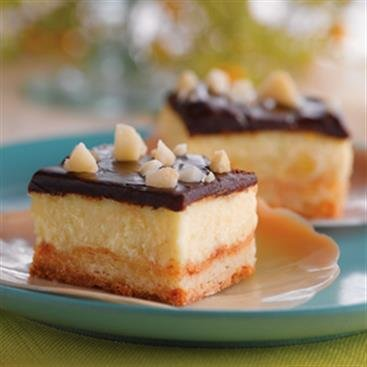 Paradise Cheesecake Bars