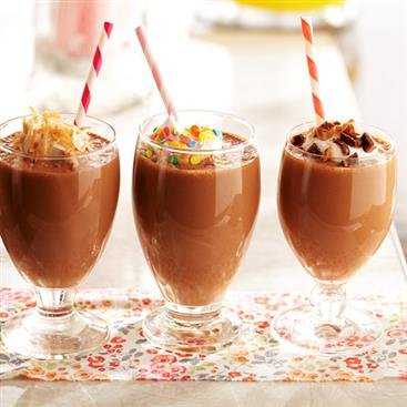 Peanutty Chocolate Shake