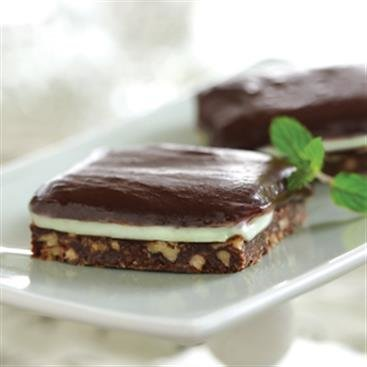 Triple Layer Chocolate Mint Bars