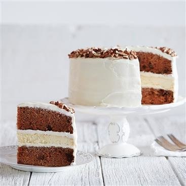 White Chocolate Cheesecake Carrot Cake