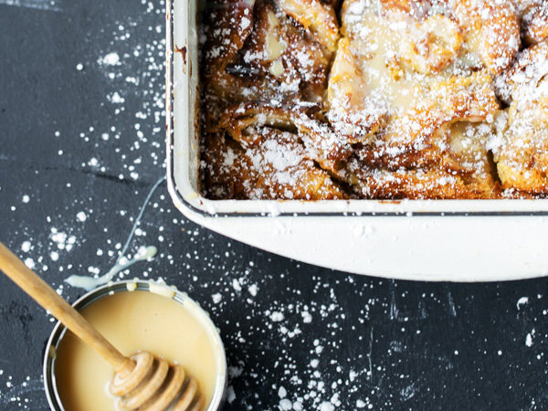 Cinnamon Croissant French Toast Bake